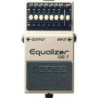 BOSS GE-7 Graphic Equalizer Pedal
