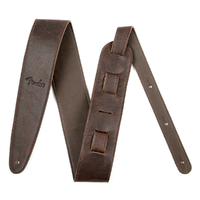"Fender Artisan Crafted Leather Strap 2.5"" Brown"