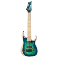 Ibanez Iron Label RGDIX7MPB - Surreal Blue Burst