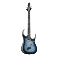 Ibanez Axion Label RGD61ALMS - Cerulean Blue Burst Low Gloss