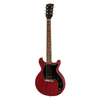 Gibson Les Paul Junior Tribute DC 2019 - Worn Cherry