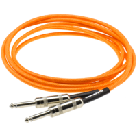 DiMarzio 10ft - Neon Orange - Straight Ends
