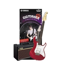 Yamaha Pacifica GIGMAKER10 Pack - Red Metallic