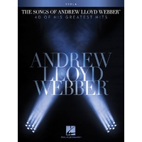 The Songs of Andrew Lloyd Webber - Viola