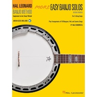 More Easy Banjo Solos for 5-String Banjo - Second Edition