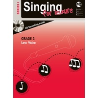 Singing For Leisure Series 1 - Grade 3 Low Voice