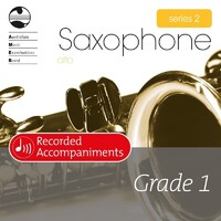 Alto Sax Series 2 Grade 1 Recorded Accompaniments