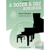 A Dozen a Day Songbook - Easy Classical, Book 2