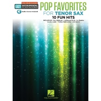 Pop Favorites for Tenor Saxophone