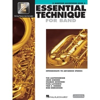 Essential Technique For Band Bk3 Bari Sax Eei
