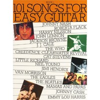 101 Songs for Easy Guitar Book 1