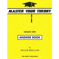 Master Your Theory Grade One Answer Book