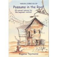 Possums in the Roof - Violin, Lyric & CD