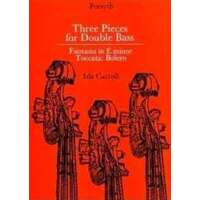 3 Pieces for Double Bass
