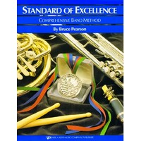 Standard of Excellence Book 2 Drums/Mallet Percussion
