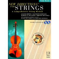 New Directions® For Strings, Viola Book 1