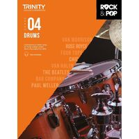 Trinity Rock & Pop Drums - Grade 4