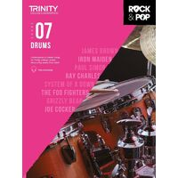 Trinity Rock & Pop Drums - Grade 7