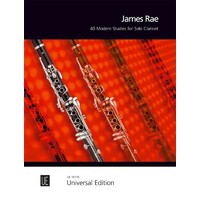40 Modern Studies for Solo Clarinet