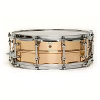 "Ludwig LB550T Bronze Phonic 5x14"" Smooth Shell w/Tube Lugs"
