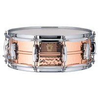 "Ludwig LC660K Copper Phonic 5x14"" Hammered Shell"