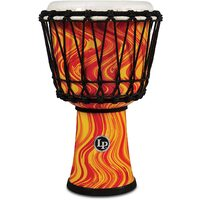 Latin Percussion Circle Djembe Orange Marble