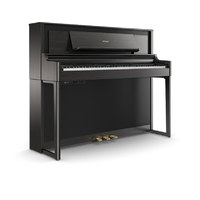 Roland LX706 Charcoal Black & Bench Seat