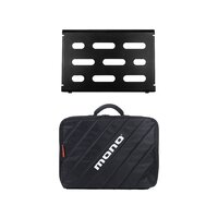Mono Solo Pedalboard And Case - Black