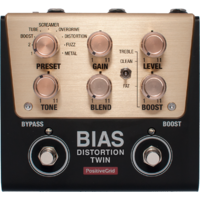 Positive Grid Bias Distortion Twin