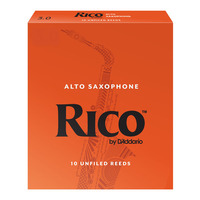 Rico Alto Saxophone Reeds - 10 Pack