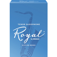 Rico Royal Tenor Saxophone Reeds - 10 Pack