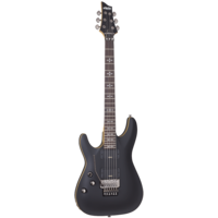 Schecter Demon-6 FR Left Handed Satin Black