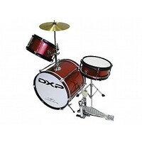 DXP Junior Drum Kit Wine Red