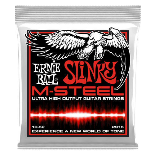 Ernie Ball 2915 M-Steel Skinny Top Heavy Bottom Slinky